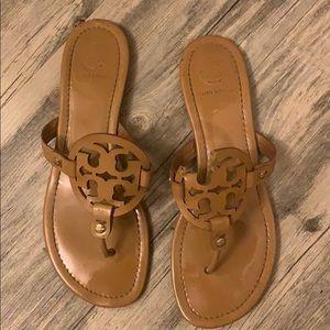 Tory Burch Miller Sandals Tan